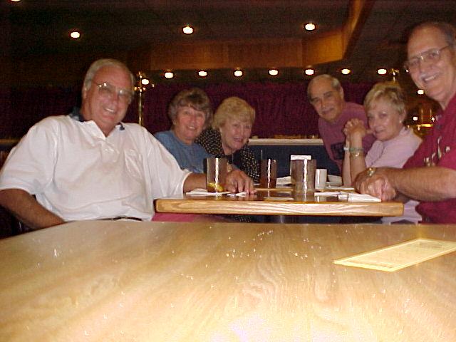 L-R  Carl,Marti,Cathy,Ron,Val & Bob